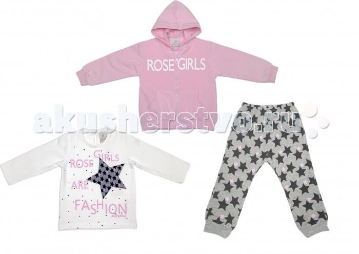 Детская одежда , Комплекты детской одежды Baby Rose Комплект для девочки 7240/7268 арт: 385389 -  Комплекты детской одежды