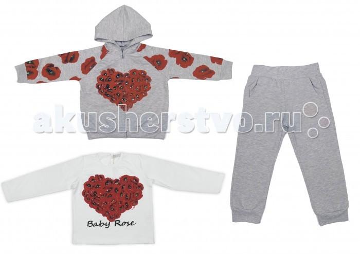 Детская одежда , Комплекты детской одежды Baby Rose Комплект для девочки 7269 арт: 385544 -  Комплекты детской одежды
