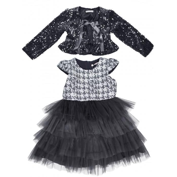 Комплекты детской одежды Baby Rose Комплект для девочки (болеро, платье) 2891 комплект платье болеро ladetto комплект платье болеро