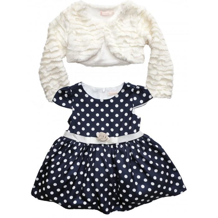 Комплекты детской одежды Baby Rose Комплект для девочки (болеро, платье) комплект платье болеро ladetto комплект платье болеро