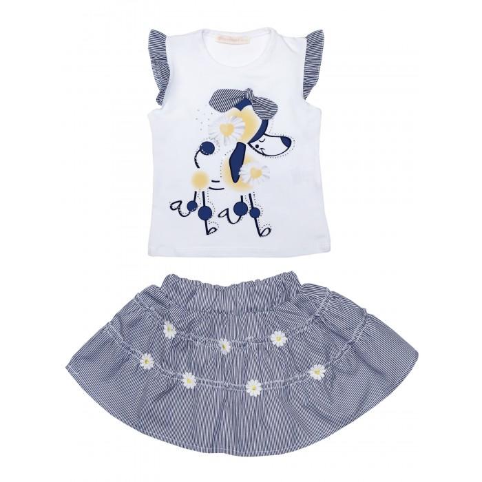 Картинка для Baby Rose Комплект для девочки (футболка, юбка) 3055-1