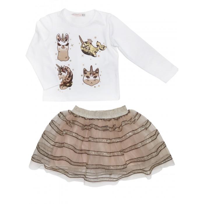 Купить Юбки, Baby Rose Комплект для девочки (лонгслив, юбка) 3227
