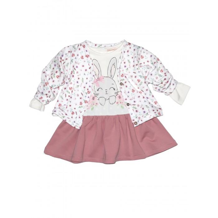 Комплекты детской одежды Baby Rose Комплект для девочки жакет и платье комплекты детской одежды viva baby комплект для девочки small bird d5004