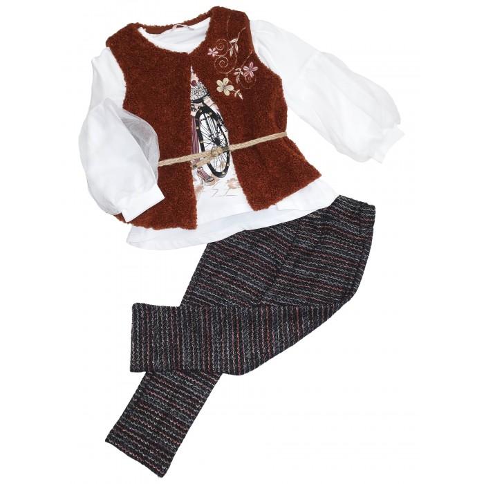 Купить Комплекты детской одежды, Baby Rose Комплект для девочки (жилет, лонгслив, брюки) 3284/3285