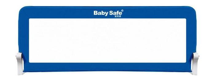 Baby Safe Барьер для кроватки 180 х 66 смБарьер для кроватки 180 х 66 смБарьер для кроватки Baby Safe - это защитный сетчатый складной барьер на металлическом каркасе.    Особенности:  Легко устанавливается под матрацем кровати и предотвращает падение ребёнка во сне.   В случае необходимости откидывается/складывается с помощью кнопок с двух сторон.   Подходит для большинства моделей кровати, высота бортика кровати до 15 см. Толщина матраца от 10 см.   Крепление к кровати шурупами или ремнями (входят в комплект). Размер: 180 х 66 см Материал: металл + ABC пластик + текстиль Соответствует европейскому стандарту BS7972:2001+A1:2009 EN71<br>