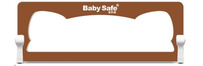 Baby Safe Барьер для кроватки Ушки 150х42Барьер для кроватки Ушки 150х42Baby Safe Барьер для кроватки Ушки 150х42 легко устанавливается под матрацем кровати и предотвращает падение ребёнка во сне.  Особенности: В случае необходимости откидывается/складывается с помощью кнопок с двух сторон  Подходит для большинства моделей кровати, высота бортика кровати до 15 см. Толщина матраца от 10 см  Крепление к кровати шурупами или ремнями (входят в комплект).  Материал: металл + ABC пластик + текстиль  Соответствует европейскому стандарту BS7972:2001+A1:2009 EN71. Барьер разборный  В коробке в разобранном состоянии, требует несложной самостоятельной сборки.<br>