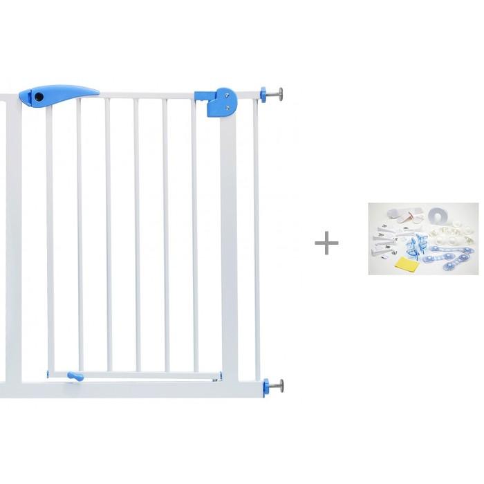 Baby Safe Барьер-калитка для дверного проема и Набор защиты Clippasafe CL90 24 шт. от Baby Safe