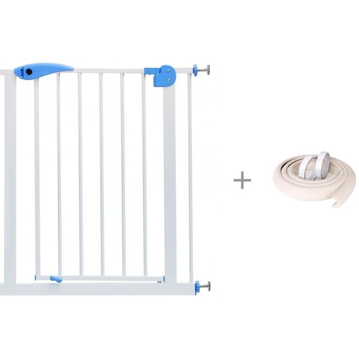 Картинка для Baby Safe Барьер-калитка для дверного проема с безопасной мягкой лентой ПОМА 2 м