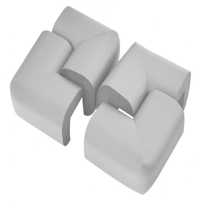 Блокирующие устройства Baby Safe Защита на углы стола мягкая 6х6 см 4 шт.