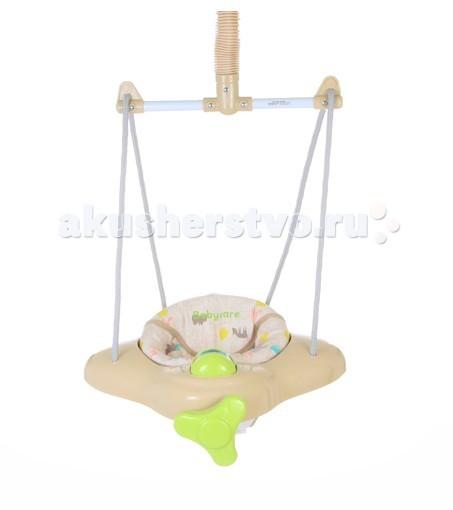 Прыгунки Baby Care AeroAeroМягкий материал сидения легко моется  Легко устанавливаются, надежно крепятся и безопасны  Крепление система фонендоскоп  Прикрепляются к верхнему косяку двери  Фиксируемая пружина для использования в качестве качелей  Для детей от 6 месяцев и до 11 кг.<br>