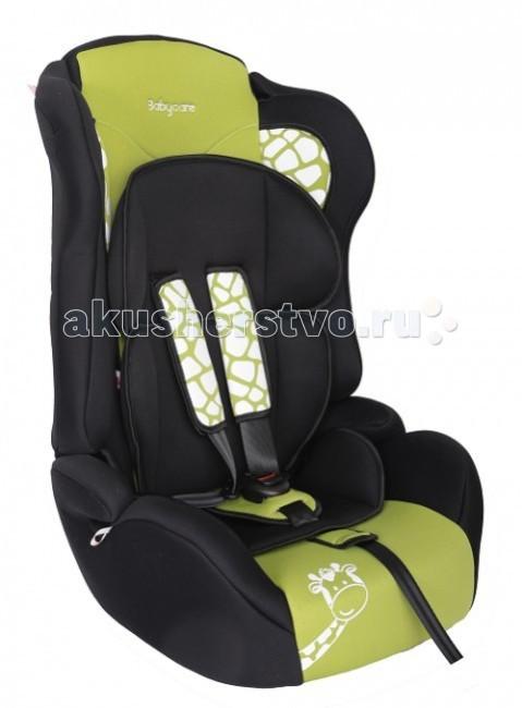 Автокресло Baby Care BC-513 Люкс ЖирафикBC-513 Люкс ЖирафикДетское автомобильное кресло «Baby Care BC-513 Люкс» предназначено для детей от 1 года до 12 лет весом от 9 до 36 кг.   Отличительным свойством автокресла является его универсальность: по мере роста ребенка, кресло легко трансформируется в бустер.   Особенности: Кресло имеет мягкий съемный подголовник и съемный чехол, изготовленный из гипоаллергенного материала.  Для малышей от 1 года до 4 лет автокресло оборудовано мягким вкладышем и внутренними пятиточечными ремнями, которые регулируются по высоте в зависимости от роста ребенка и по глубине специально под зимнюю одежду.   В детском автомобильном кресле «Baby Care BC-513 Люкс» ваш ребенок будет путешествовать в безопасности и с удовольствием!  Размер посадочного места: 35x34 см.<br>