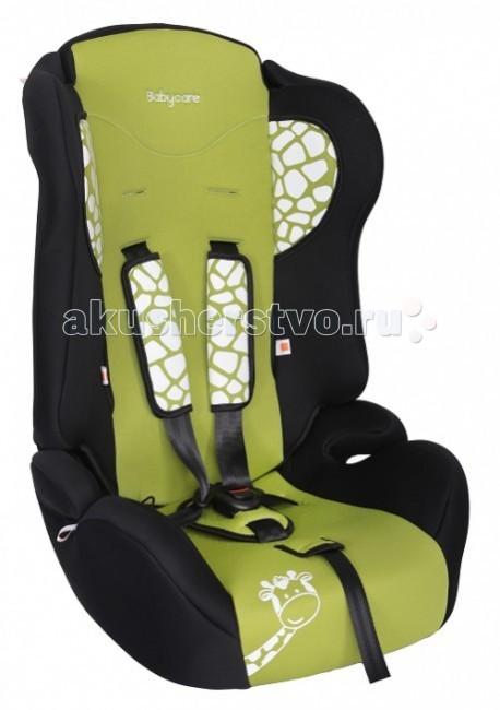 Автокресло Baby Care BC-513 ЖирафикBC-513 ЖирафикДетское автомобильное кресло «Baby Care BC-513» предназначено для детей от 1 года до 12 лет весом от 9 до 36 кг.   Отличительным свойством автокресла является его универсальность: по мере роста ребенка, кресло легко трансформируется в бустер.   Особенности: Кресло имеет мягкий съемный подголовник и съемный чехол, изготовленный из гипоаллергенного материала.  Для малышей от 1 года до 4 лет автокресло оборудовано внутренними пятиточечными ремнями, которые регулируются по высоте в зависимости от роста ребенка и по глубине специально под зимнюю одежду.   В детском автомобильном кресле «Baby Care BC-513» ваш ребенок будет путешествовать в безопасности и с удовольствием!  Размер посадочного места: 35x34 см.<br>