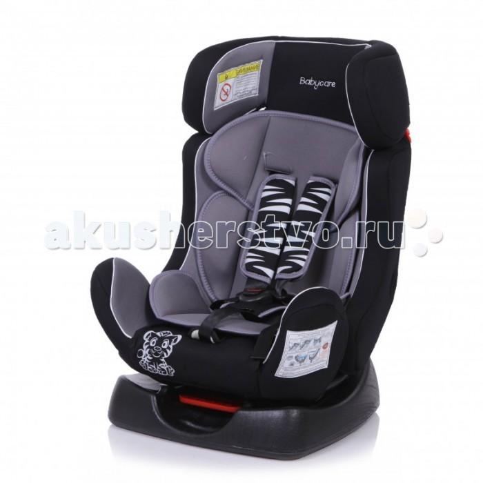 Автокресло Baby Care BC-719 Люкс ТигрёнокBC-719 Люкс ТигрёнокBaby Care BC-719 Люкс Тигрёнок - детское автокресло, предназначенное для детей от рождения до 7 лет весом до 25 кг. Автокресло имеет ярко выраженную боковую защиту и надежную систему крепления внутренних пятиточечных ремней, что обеспечивает безопасность ребенка при резких поворотах и боковых ударах.  Внутренние пятиточечные ремни регулируются по высоте в зависимости от роста ребенка. Благодаря ортопедической форме спинки и регулировки наклона автокресла, мягкому вкладышу и накладкам внутренних ремней безопасности ребенку удобно и комфортно в поездке. В детском автомобильном кресле Baby Care BC-719 Люкс Тигрёнок ваш ребенок будет путешествовать в безопасности и с удовольствием!  Преимущества модели в области удобства:  мягкий подголовник, вкладыш и накладки внутренних ремней обеспечивают максимальный комфорт ребенка ортопедическая форма кресла обеспечивает повышенный комфорт ребенка и защиту от нагрузок во время поездки регулировка внутренних ремней по высоте в зависимости от роста ребенка 3 положения регулировки наклона автокресла: одно в группе 0+ и два в группе &#189; износостойкий чехол легко снимается для стирки  Преимущества модели в области безопасности: ярко выраженная боковая защита обеспечивает безопасность при резких поворотах и боковых ударах прочный каркас автокресла изготовлен экструзионно-выдувным методом надежная система внутренних пятиточечных ремней с использованием специально разработанных ременных лент российского производства замок ремней с мягким клапаном и защитой от неправильного использования нетоксичный гипоаллергенный материал безопасен для ребенка соответствует правилам ЕЭК ООН № 44-04  Способ установки: против хода движения (для ребенка весом до 13 кг), по ходу движения (для ребенка весом от 13 до 25 кг)  Габариты посадочного места: 29 х 30 х 51 см<br>