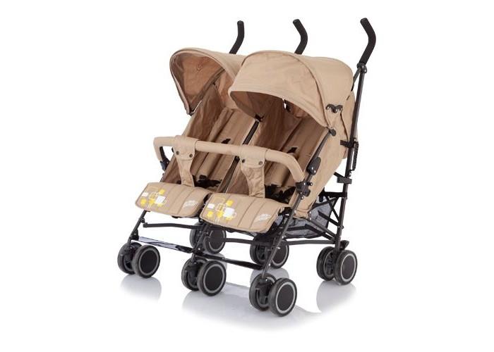 Baby Care Коляска для двойни City TwinКоляска для двойни City TwinКоляска Baby Care City Twin представляет собой самую легкую двойную коляску-трость. Коляска трость лучший вариант для путешествий! Регулируемая подножка обеспечит дополнительный комфорт для ваших малышей. Маленькие пассажиры могут сидеть рядом друг с другом.  Характеристики:  жесткая спинка с плавно регулируемым наклоном пять положений спинки вплоть до лежачего облегченная алюминиевая рама двойные плавающие передние колеса с фиксацией теплый чехол на ноги разъемный мягкий бампер 5-точечные ремни безопасности большая корзина для покупок легко и компактно складывается. В сложенном виде очень компактна удобно для транспортировки и хранения  Размеры:  диаметр колес: 15 см ширина колесной базы: 85 см длина колесной базы: 53 см длина спального места: 78 см ширина сидения: 34 см длина сидения: 19 см вес: 14,0 кг вес с упаковкой: 16,0 кг  Рекомендована от 6 месяцев до 4 лет (18 кг.).<br>
