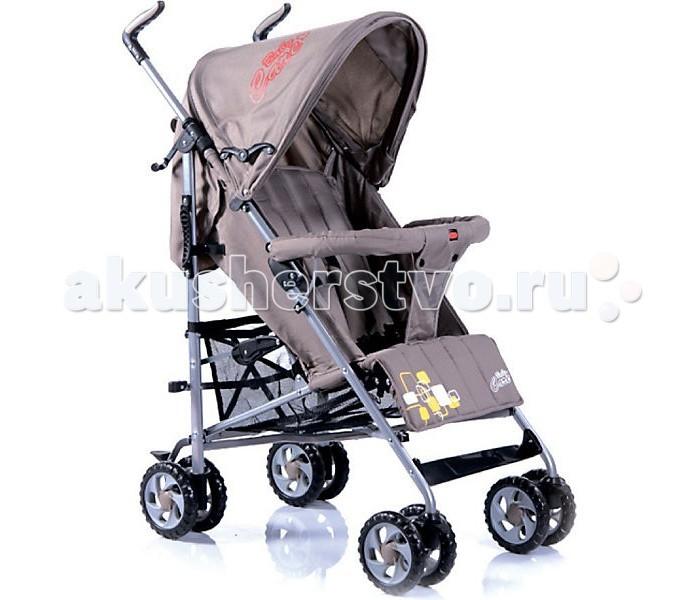 Коляска-трость Baby Care CityStyleCityStyleКоляска-трость Baby Care CityStyle – качественная городская коляска-трость, функционалу которой позавидуют многие прогулочные коляски.  Данная модель подходит для любых погодных условий. В комплект входит утепленный чехол на ножки. Кроме того, от дождя прекрасно защищает большой капюшон. Он быстро сохнет и может раскладываться почти до бампера.  Все необходимые функции посадочного места сохранены. Спинка имеет три положения наклона, подножка может регулироваться по высоте. За безопасность малыша отвечают 5-точечные ремни безопасности и мягкий бампер с перемычкой.  Особенности: облегченная алюминиевая рама капюшон может опускаться достаточно низко, почти до бампера съемный бампер с мягкой обивкой спинка может раскладываться в 3 положениях регулируемая по высоте подножка 5-точечные ремни безопасности передние колеса плавающие с возможностью фиксации стояночный тормоз на задних колесах вместительная корзина для вещей коляска складывается тростью  Длина спального места 78 см, сидячего места - 19 см, с поднятыми ножками - 34 см, ширина - 31 см.  Вес: 6,5 кг.<br>