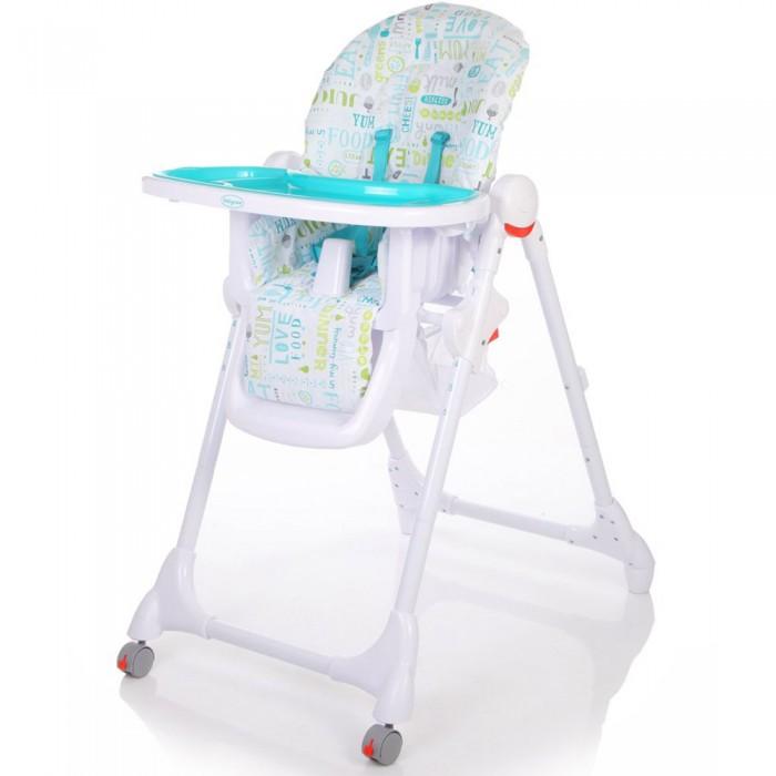 Стульчик для кормления Baby Care FiestaFiestaСтульчик для кормления Baby Care Fiesta - стульчик для кормления с регулируемой спинкой и съемной столешницей. 6 уровней высоты кресла. 5-ти точечные ремни безопасности.  Стульчик легко складывается и устойчив в сложенном виде.  Особенности: 6 уровней высоты кресла 3 положения наклона спинки 5-точечные ремни безопасности и ограничитель 3 положения глубины столешницы съемная дополнительная прозрачная столешница сетка для игрушек стульчик легко складывается и устойчив в сложенном виде  Размер стульчика в сложенном виде: 61х85х100 см Размер в разложенном виде: 61х36х119 см Ширина сидения: 29.5 см Вес: 8.2 кг Размер упаковки: 51х29х75 см Вес с упаковкой: 9.2 кг Передвигается при помощи 2 колесиков, расположенных на передней стойке. Изготовлен из гипоаллергенных и экологически чистых материалов. Съемная тканевая обивка с пропиткой легко моется и может подвергаться стирке.<br>