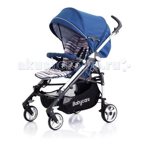 Коляска-трость Baby Care GT4GT4Коляска-трость Baby Care GT4. Лёгкая прогулочная коляскатрость с большим капором, горизонтальным положением для сна. Колеса одинарные, передние поворотные.   Коляска трость Baby Care GT4 отличается облегченной алюминиевой рамой и простотой в управлении. В комплекте с аксессуарами  дождевиком и чехлом для ножек. Большая сетчатая корзина, смотровое окошко в капюшоне и вентиляционные отверстия, съемные бампер и капюшон создадут дополнительный комфорт.  С коляской Baby Care GT4 удобно путешествовать благодаря небольшому весу и компактным размерам после складывания. Прогулочная коляска трость Baby Care GT4 предназначена для детей от 6 месяцев до 3 лет.  Особенности:  5-точечные ремни безопасности  Регулируемая спинка в 3 положениях  Регулируемая подножка в 2 положениях  Капюшон легко трансформируется в тент с помощью молний  Эргономичная ручка, регулируемая в 3 положениях  Легкое, алюминиевое, лакированное шасси  Компактно складывается тростью  Вместительная корзина для покупок и игрушек  Колеса с пружинными подвесками  Передняя пара «плавающих» с функцией фиксации  Задние колеса с реечным тормозом  Съемные тканевые детали  Рекомендована ручная стирка при температуре 40 градусов  Замок безопасности, который в сложенном виде предохраняет коляску от случайного раскрытия.  Размеры:  Размер (в&#215;ш&#215;д): 103&#215;51&#215;87 см.  Размер в сложенном состоянии: 31&#215;99 см.  Вес 10,1 кг.<br>