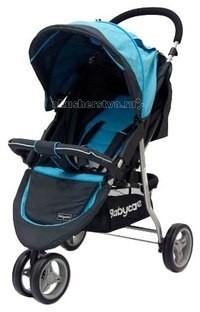 Прогулочная коляска Baby Care Jogger LiteJogger LiteПрогулочная коляска Baby Care Jogger Lite - трехколесная прогулочная коляска на алюминиевой раме, облегченная версия Baby Care Jogger Cruze. Вес данной модели - всего 7, 5 кг. Впечатляющий показатель, особенно для прогулочной коляски.   Сдвоенное поворотное переднее колесо отвечает за маневренность. При желании его можно зафиксировать для езды по прямой. Задние колеса увеличенного диаметра обеспечивают хорошую проходимость.    Спинка механически раскладывается до 170 градусов. Подножку также можно настраивать по высоте. С ее помощью получается просторное спальное место оптимальной длины. Большой капюшон с карманом и окошком для мамы снабжен дополнительным козырьком. Он защищает малыша от УФ лучей и осадков, не закрывая обзор.    Для безопасности ребенка коляска оснащена 5-точечными ремнями безопасности и съемным бампером. А маму порадует достаточно вместительная сетчатая корзина для вещей и покупок.   Особенности: легкая алюминиевая рама; материал с водоотталкивающей пропиткой; большой капюшон оснащен окошком для мамы, карманом на молнии и дополнительным козырьком; механическое раскладывание спинки до 170 градусов; подножка регулируется по высоте; съемным бампер с мягкой накладкой; 5-точечные ремни безопасности; сетчатая корзина для покупок; коляска легко складывается книжкой, может стоять в сложенном виде, компактна в хранении.  Размеры: длина спального места: 60 см&#8232; сидение: 20x30 см высота сидения от пола: 40 см колесная база: 53x70 см в сложенном виде: 53x83x40 см  Рекомендована детям от 6 месяцев до 4-х лет (до 18 кг).<br>