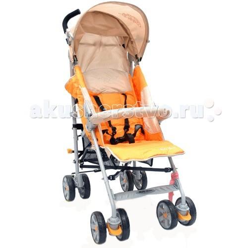 Коляска-трость Baby Care PoloPoloКоляска-трость Baby Care Polo обладает всем свойствами качественной и надежной коляски для ежедневных прогулок с малышом. Модель, привлекающая своей маневренностью, современным дизайном и небольшим весом. Сложение тростью до компактных размеров позволит брать коляску с собой в путешествие.  Сиденье комфортное и просторное с опускаемой спинкой. От непогоды надежно укроет опускаемый до поручня капор, а также входящие в комплектацию аксессуары. Поворотная пара сдвоенных передних колес делает модель маневренной.  Особенности:  Облегченная рама из стильного алюминиевого профиля  В комплектацию входит дождевик и чехол на ноги  3 положения наклона спинки  Двойные плавающие передние колеса с автоматической фиксацией   Передние и задние амортизаторы  Корзина для вещей   Передняя ручка для ребенка с мягкой обивкой   Коляска автоматически защелкивается, в сложенном положении стоит   Ручка для переноски.  Размеры и вес: Размер спального места: 33х80 см  Вес: 8,5 кг Размеры в разложенном виде Ш*Д*В 51х80х107 см.<br>