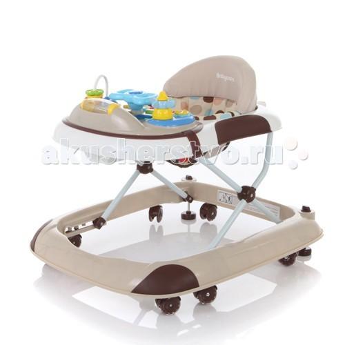 Ходунки Baby Care StepStepBaby Care Step - легкие и качественные детские ходунки. Модель очень устойчива за счет широкого основания и 8 силиконовых колес, которые облегчают перемещение и не повреждают напольные покрытия.   Съемная музыкально-игровая панель. 3 положения регулировки сидения по высоте. Полностью съемная обивка для удобства стирки.  Особенности: 8 силиконовых колёс 3 уровня высоты съёмная игровая панель текстиль можно снять для стирки рекомендовано для детей от 6 месяцев до 18 месяцев максимальная нагрузка на ходунок до 12 кг игровая панель со звуком и музыкой 2 стопора   Вес ходунка: 4.3 кг. Размер ходунка в разложенном состоянии: 61х71х52 см. Размер ходунка в сложенном состоянии: 61х71х25 см.<br>
