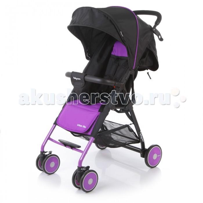 Прогулочная коляска Baby Care Urban LiteUrban LiteКоляска прогулочная Urban Lite – замечательный вариант для ежедневных прогулок с малышом. Коляска предназначена для малышей от 6 месяцев.   Особенности: легкая алюминиевая рама плавающие передние колеса 5-ти точеные ремни безопасности съемный бампер с мягкой обивкой очень компактное складывание спинка регулируется при помощи ремня ножная тормозная система коляска может стоять в сложенном состоянии подножка регулируется с помощью ремня амортизация передних колёс  Комплектация: Чехол на ноги  Характеристики: диаметр колес: передние – 13 см, задние — 15.3 см тип колес: передние-двойные, задние-одинарные механизм складывания: книжка вес: 5.4 кг ширина сиденья: 33.5 см размер корзины: 40х34х14 см размер в разложенном виде: 87х51х103 см размер в сложенном виде: 67х51х25 см<br>