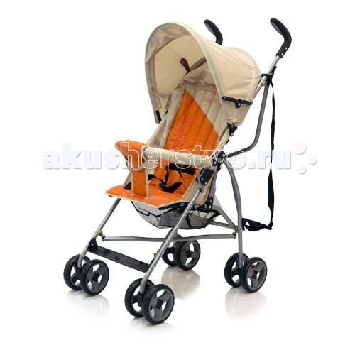Коляска-трость Baby Care VentoVentoСамая легкая прогулочная коляска-трость оригинального дизайна. Это коляска для путешествий!  Очень компактна. Можно взять с собой в самолет, положить в багажник автомобиля. Плечевой ремень для переноски в сложенном состоянии. Максимально удобна и легка в переноске. Легкая алюминиевая рама. 3-точечные ремни безопасности. Очень маневренная. Мягкие сдвоенные колеса из искусственной вспененной резины - пеноплена. Передние поворотные колеса. Стояночные тормоза на задних колесах. Легко и быстро складывается.  Размеры:  Ширина сидения - 29 см Диаметр колес: передние - 12 см Ширина колесной базы: 44 см Вес: 5 кг Рекомендована от 6 месяцев до 3 лет.<br>