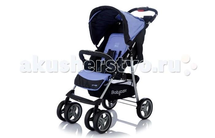 Прогулочная коляска Baby Care VoyagerVoyagerПрогулочная коляска Baby Care Voyager – замечательный вариант для ежедневных прогулок с малышом.   Коляска предназначена для малышей от 6 месяцев. Именно в этот период малыши начинают активно развиваться и уже могут самостоятельно сидеть. Основными достоинствами модели являются надежность и высокое качество используемых материалов, простота и легкость конструкции, а также удобное и комфортное управление.   Легкое алюминиевое шасси способствует значительному снижению веса коляски (всего 7.5 кг).   Особенности:  3 положения спинки (включая горизонтальное 170 градусов)  5-ти точечный ремень безопасности с мягкими наплечниками  Жесткая спинка с плавно регулируемым наклоном   Облегченная алюминиевая рама   Двойные плавающие передние колеса с фиксацией  Амортизаторы (металлические пружины)  Диски из ударопрочного и морозостойкого пластика  Колеса из вспененной искусственной резины пеноплена с добавлением каучука, по асфальту не гремят   Подставка для родителей  Легко и компактно складывается (одной рукой)  Для детей от 0,5 до 3-х лет (до 18 кг).<br>