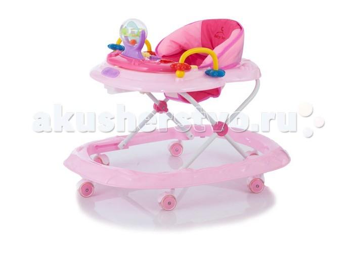 Ходунки Baby Care WalkerWalkerBaby Care Walker — легкие устойчивые ходунки на широком основании, предназначены для детей от 6 до 12 месяцев. Особенностью модели является наличие красочной игровой панели с музыкальным сопровождением, которую можно снять с ходунков и использовать как отдельную игрушку.   Ходунки компактно складываются гармошкой и занимают минимум пространства при хранении. Родители по достоинству оценят наличие силиконовых поворотных колес, которые не повреждают поверхность полового покрытия во время детских игр.   Особенности: ходунки регулируются по высоте в 3 положениях очень легкая рама широкое основание для максимальной устойчивости силиконовые поворотные колеса облегчают перемещение и не повреждают напольные покрытия второй замок - фиксатор от произвольного складывания для дополнительной безопасности игровой центр легко снимается, после чего можно пользоваться лотком как столиком съемный музыкально - игровой центр можно использовать как отдельную игрушку мягкое сидение из моющегося материала ходунки компактно складываются гармошкой<br>