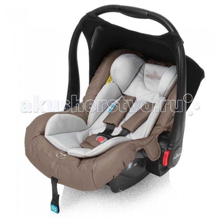 Автокресло Baby Design LeoLeoАвтокресло Baby Design Leo - защита с первых дней жизни! Легкое и удобное автокресло Baby Design Leo предназначено для малышей весовой группы 0+ (от 0 до 13 кг). Хорошее горизонтальное положение создается специальным мягким вкладышем. Он делает поверхность практически ровной, что позволяет избежать нагрузки на позвоночник малыша. Съемный солнцезащитный козырек и чехол для ножек помогут укрыть малыша. Съемная обивка кресла сделана из приятных на ощупь материалов.   Основные характеристики: способ крепления автокресла: штатными ремнями безопасности безопасность: соответствует Европейскому стандарту безопасности ЕСЕ R44/04; изготовлено на предприятии, имеющем сертификат ISO 9001 рекомендована установка против хода движения, спиной вперед 3-х точечные ремни безопасности с удобной регулировкой длины и центральной системой натяжения, мягкие защитные накладки, застежка шведской фирмы Holmberg эргономичная ручка для переноски регулируется в нескольких положениях и позволяет установить автокресло на полу изогнутая конструкция автокресла позволяет использовать его в качестве люльки и укачивать малыша автокресло можно устанавливать на коляски Baby Design Husky, Dotty, Lupo, Lupo Comfort съемный чехол - легко поддерживать в чистоте Легкий вес - 2.9 кг   Обратите внимание! При установке автокресла на переднее сиденье необходимо обязательно отключать фронтальную подушку безопасности!<br>