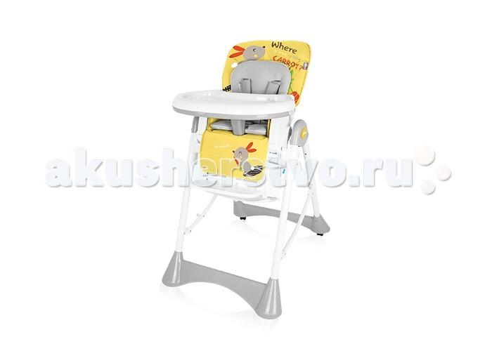 Стульчик для кормления Baby Design PepePepeСтульчик для кормления Baby Design Pepe  Яркий, многофункциональный стульчик для кормления Baby Design Pepe  Особенности: регулируется по высоте - 6 уровней регулировка наклона спинки - 3 положения изменяется расстояние между столиком и малышом двойной съемный столик - подносик и основной стол пятиточечные ремни безопасности ограничитель между ножек - дополнительная безопасность  легкоочищаемый материал обивки сиденья  дополнительный мягкий вкладыш удобно и компактно складывается переставляемая по высоте подставка для ножек  Размер разложенного стульчика: 61 x 73 x 105 см Размер сложенного: 61 x 85 x 32 см Размеры сиденья: 24 x 50 x 39 см Вес стульчика 8.6 кг<br>