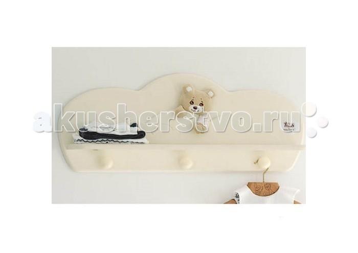 Купить Аксессуары для детской комнаты, Baby Expert Полка-вешалка Abbracci by Trudi