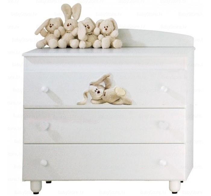 Комоды Baby Expert Cremino бельевой (3 ящика) комоды foppapedretti fred cassettiera бельевой 4 ящика
