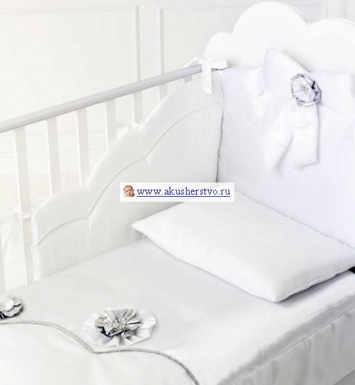 Комплекты в кроватку Baby Expert Gioiello (4 предмета) пеленальный комод baby expert gioiello кремовый с розовым декором