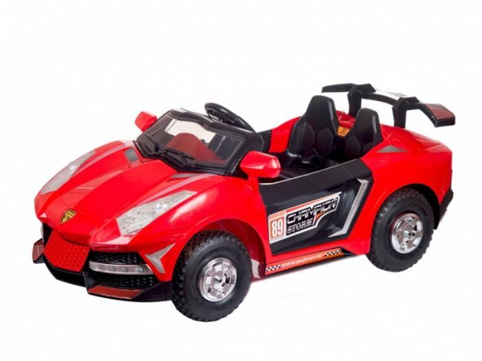 Электромобиль BabyHit StormStormДетский электромобиль Babyhit Storm – потрясающая игрушка для любого ребенка, который станет отличным развлечением не на один сезон.   Эта яркая и красивая двухместная машинка выдерживает нагрузку до 35 кг, и подойдет для малышей 3 – 6 лет.  Для самых маленьких неопытных водителей предусмотрена альтернативная система управления дистанционно, через Bluetooth: возможность «порулить» доставит удовольствие родителям не меньше, чем малышам. Особенности: Два редуктора/электродвигателя мощностью 20 Вт каждый Две АКБ 6В/7Ач каждая Пульт дистанционного управления (Bluetooth)<br>