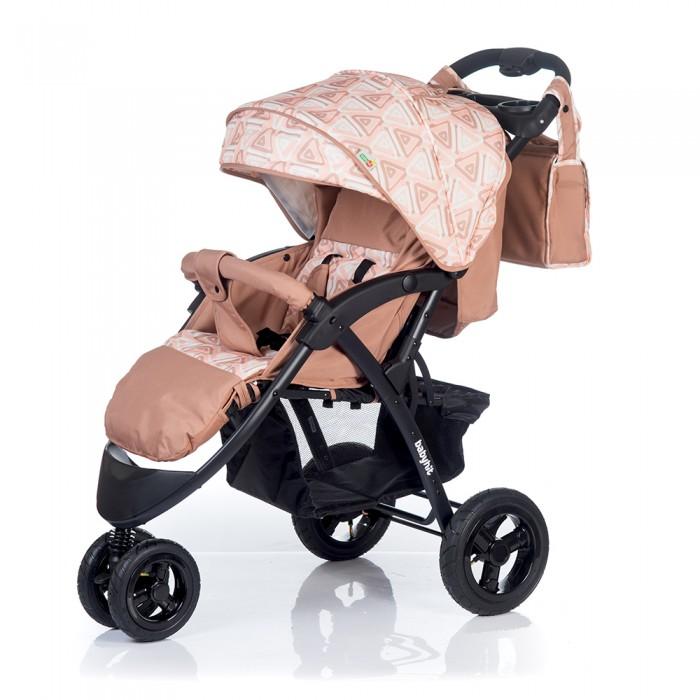 Прогулочная коляска BabyHit Voyage AirVoyage AirПрогулочная коляска BabyHit Voyage Air станет незаменимым помощником для родителей малыша с 6-ти месяцев и до 3-х лет. Легкая, удобная и функциональная коляска, выполненная в оригинальном стиле и классических расцветках.   Комфортная и удобная прогулочная коляска Babyhit Voyage предоставит малышу наилучшие условия для увлекательных прогулок и изучения окружающего мира. Для этого спинка сиденья регулируется в нескольких положениях и опускается до горизонтального положения, образуя отличное спальное место, где малыш может с комфортом и удобством поспать во время прогулки.  Особенности: Поворотные передние колеса с фиксацией в положении прямо  Складывание одной рукой Капюшон «батискаф» Регулируемая до положения «лежа» спинка Регулируемая подножка Амортизация на всех колесах 5-ти точечная система ремней безопасности Съемный поручень с паховым ремнем. Столик с подстаканниками и бардачком на ручке.  Размеры: Размер коляски в разложенном виде: 103 х 57 х 108 см (ДхШхВ)  Размер коляски в сложенном виде: 100 х 57 х 34 см (ДхШхВ)       Размер спального места: 89 х 34 см (ДхШ) Ширина сиденья: 34 см Длина сиденья:  25 см Высота спинки:  44 см Высота до ручки: 107 см Вес: 13,1 кг.<br>