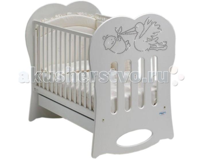Детские кроватки Baby Italia Crystal качалка
