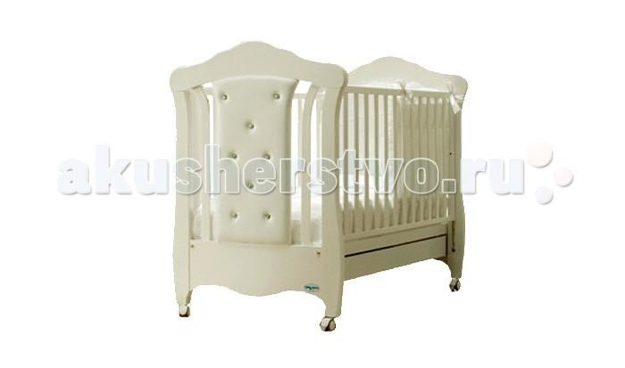 Детская кроватка Baby Italia Mimi Pelle качалка