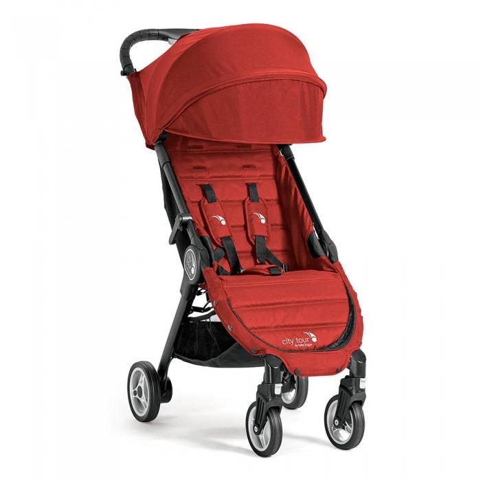 """Прогулочная коляска Baby Jogger City TourCity TourПрогулочная коляска Baby Jogger City Tour имеет компактные размеры и легкий вес, в комплекте бампер и рюкзак для транспортировки, что делает коляску отличным помощником в путешествиях, так как она соответствует параметрам ручной клади в большинстве видах транспорта.  Коляска имеет полноценное многопозиционное лежачее положение спинки, большой капюшон с окошком для просмотра, амортизацию на передних колёсах.   Сиденье данной прогулочной коляски рассчитано на одного пассажира. Не допускайте, чтобы в такой коляске находилось больше одного ребенка. Такое сиденье не подходит для детей в возрасте до 6 месяцев. Максимальный вес- 20.5 кг; Максимальный рост ребенка 101.6 см. Суммарный рекомендованный вес для этой коляска 28.5 кг ( 20.5 кг- на сиденье, 1 кг - в кармане за спинкой сиденья и 7 кг -в корзине). Эта коляска не подходит для бега, катания на коньках или на роликах. Никогда не оставляйте ребенка без присмотра. Особенности:  Возраст ребенка с 6 месяцев до 3 лет Максимальный вес/рост ребенка: 20.5 кг/ 102 см Регулировка спинки: откидывается до 150 градусов Внутренние ремни: 5 точечные Капюшон: 2 секции+ солнцезащитный козырек Корзина для вещей Ширина сиденья х глубина сиденья: 30 х 21 см Длина спинки: 44 см Длина подножки: 21 см Высота посадки: 40 см Размеры в разложенном виде: 91 х 45 х 23 см Размеры в сложенном виде: 56 х 45 х 23 см Масса коляски: 6.4 кг Ширина колесной базы: 45 см Размер колес: передние 12.5 см задние 14.5 см Поворотные колеса: передние с блокировкой Тормоз: стопор задних колес Складывается одной рукой: """"Quickfold"""" Возможность установки автокресла: нет Комплектация: коляска, бампер, рюкзак для транспортировки<br>"""