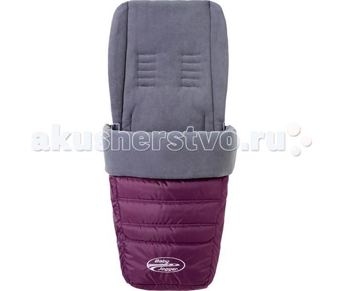 Зимний конверт Baby Jogger Муфта для ног универсальныйМуфта для ног универсальныйТеплая накидка на ножки от производителя Baby Jogger используется для детей от 0 месяцев до 3х лет.  Теплый флис внутри, утепленные слой, и непромокаемая ткань с дышащим эффектом.  Подходит для колясок Baby Jogger модели City Micro, City Mini, Citi Mini GT, City Elite, Summit X3.  Упаковка - пакет.<br>