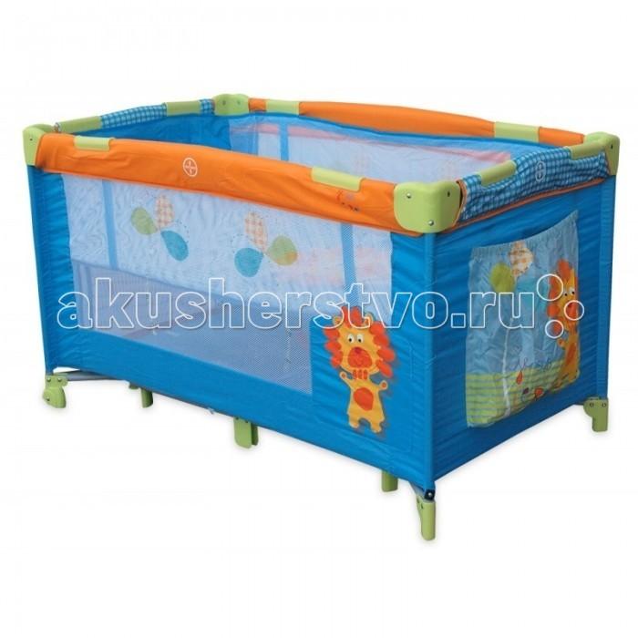 Манеж Baby Mix КроваткаКроваткаМанеж Baby Mix Кроватка   Манеж-кровать - функциональная, яркая и удобная модель, которая прослужит вам с самого рождения ребенка. Высота дна легко регулируется - всего предусмотрено 2 положения. Сквозь красочные сетчатые стенки легко всегда видеть, чем занимается малыш, а в удобном кармане можно хранить необходимые мелочи. Манеж легко складывается для хранения и транспортировки.  Особенности манежа-кровати  Baby Mix (Польша): высота дна регулируется 2 положениями; сбоку карман для детских аксессуаров; устойчивая конструкция с 4 основными и 2 дополнительными ножками; сетчатые стенки; стильный практичный дизайн; 2 в 1: детская кроватка и безопасный манеж для игр и сна; прочный каркас спрятан под мягкими набивными бортиками; довольно просторное спальное место; в комплекте есть текстильный чехол для хранения и транспортировки; в комплекте так же есть москитная сетка для использования вне помещений; быстрый и безопасный механизм складывания-раскладывания манежа со специальным замком-фиксатором; для того, чтобы вашему малышу было удобно - съемный мягкий матрасик; большие колеса позволяют перевозить разложенный манеж по комнате, а сложенный куда угодно, не нужно перетаскивать тяжести; специальная форма ножек для того, чтобы манеж невозможно было опрокинуть даже облокотившись на него; манеж изготовлен из прочных антибактериальных тканей, удобных для чистки. Размер: 120х68х70 см.<br>