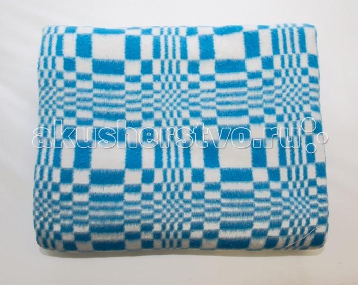 Одеяло Baby Nice (ОТК) Байковое клетка 100х140 см