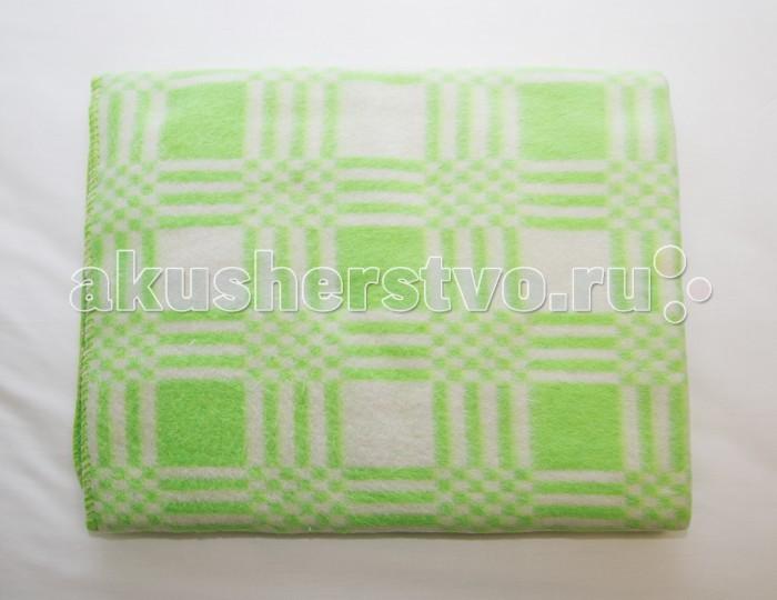 Одеяла Baby Nice (ОТК) Байковое клетка 100х140 см ермолино детское байковое 100х140 см