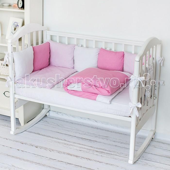 Комплекты в кроватку Baby Nice (ОТК) Luxury H0113 (4 предмета) baby nice отк котята 3 предмета