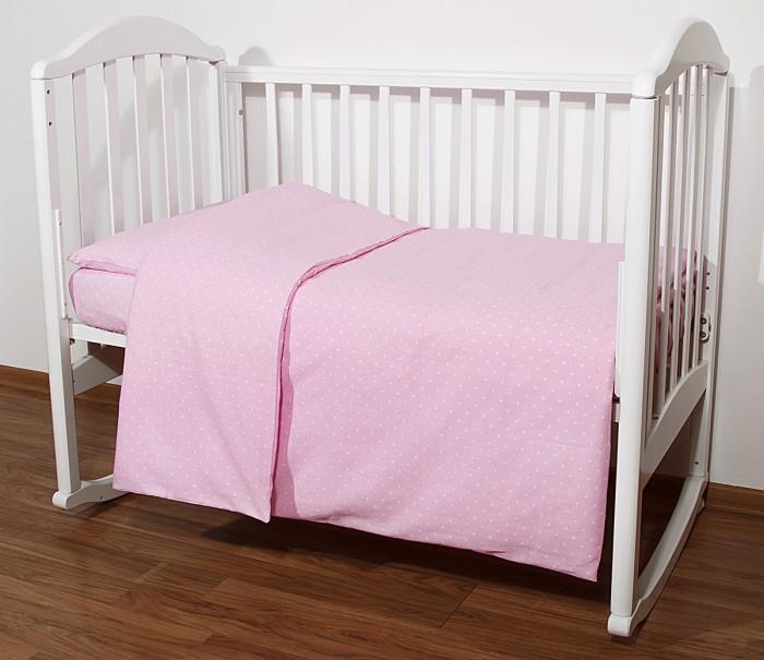 Постельное белье Baby Nice (ОТК) Споки ноки Горох (3 предмета)