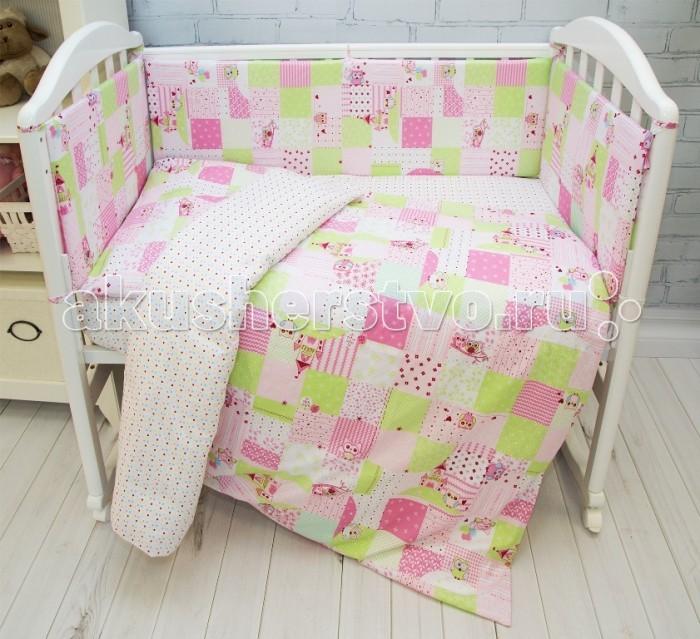 где купить Постельное белье Baby Nice (ОТК) Споки ноки Совы (3 предмета) по лучшей цене