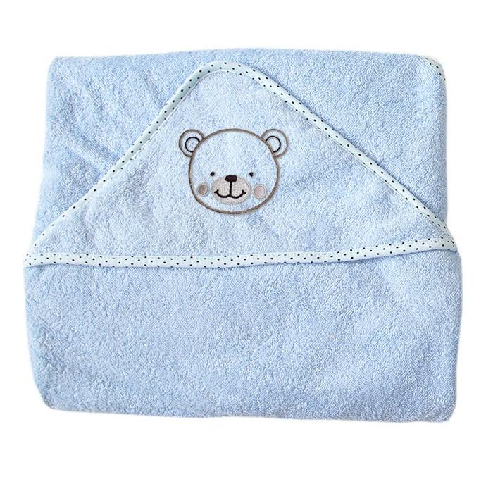 Полотенца Baby Nice (ОТК) Уголок махровый 75х75 baby nice уголок для купания