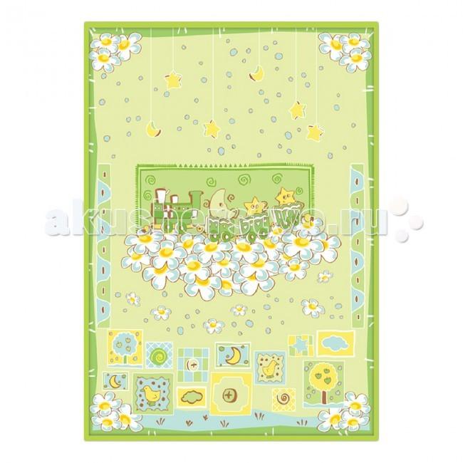 Постельные принадлежности , Одеяла Baby Nice (ОТК) байковое Паровозик 85х115 см арт: 46822 -  Одеяла