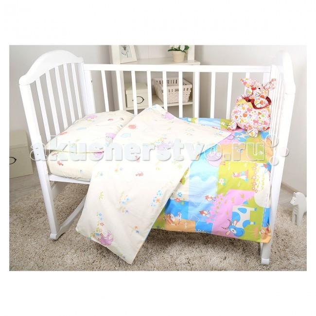 Постельное белье Baby Nice (ОТК) Ферма (3 предмета) baby nice отк котята 3 предмета