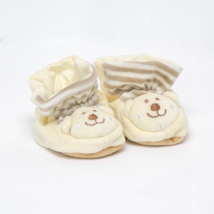 Обувь и пинетки Baby Nice (ОТК) Пинетки с аппликацией пинетки митенки blue penguin puku