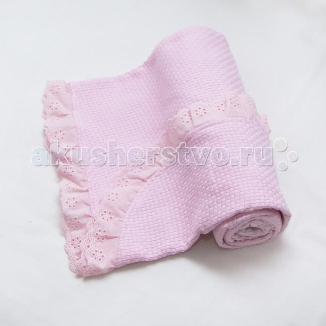 электропростыни и одеяла Одеяла Baby Nice (ОТК) вязанное с рюшами 80х100 см